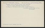 Macdonald Dictionary Record: Henry Boddington