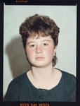 Negative: Miss Wright Passport Photo