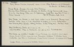 Macdonald Dictionary Record: James Gordon Clark, James Clark, Joseph Clark, John Clarke, John Chattaway Clarke, John Clarke