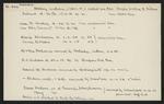 Macdonald Dictionary Record: William Dickey, William F Dickey, Roy Vincent Dickey, W J Dickie, David Dickinson, Mr & Mrs Dickinson, A E Dickson, Edwin B Dickson,  Dickson, James Dickson
