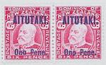 Stamps: New Zealand - Aitutaki Six Pence