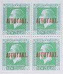 Stamps: New Zealand - Aitutaki Half Penny