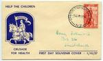 First Day Cover: New Zealand Health Stamps 1937