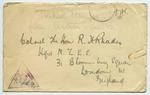 Envelope: Colonel The Honorable R H Rhodes
