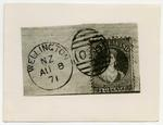 Photograph: New Zealand Two Pence Stamp