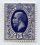 Stamp: International Stamp Exhibition One Penny