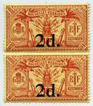 Stamps: New Hebrides Two Pence