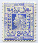 Stamp: New South Wales Two Pence