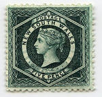 Stamp: New South Wales Five Pence