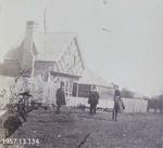 Photograph: Mr Luck's House, Gloucester Street, Christchurch 1860