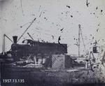 Photograph: Railway Train at Ferrymead Station 1860