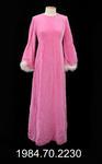 Mother of the Bride Dress: Pink Velvet