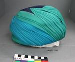 Hat: Blue and Green Turban