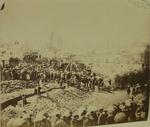 Photograph: Laying Stone of Saint Michaels New Church