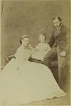 Photograph: Princess Alexandra and the Prince of Wales