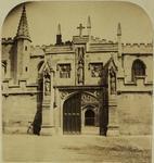 Photograph: Pugin Gateway, Oxford