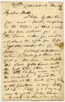 Letter: Alfred Charles Barker to Matthias Barker, 28 March 1860