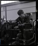 Negative: GGH Man Working On Machinery