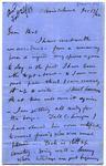 Letter: Alfred Charles Barker to Matthias Barker, 13 December 1862