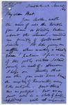 Letter: Alfred Charles Barker to Matthias Barker, 12 January 1864