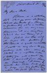 Letter: Alfred Charles Barker to Matthias Barker, 14 December 1864
