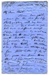 Letter: Alfred Charles Barker to Matthias Barker, 12 April 1865