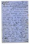 Letter: Alfred Charles Barker to Matthias Barker, 8 June 1865