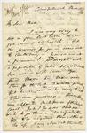 Letter: Alfred Charles Barker to Matthias Barker, 15 March 1866