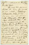 Letter: Alfred Charles Barker to Matthias Barker, 14 May 1866