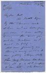 Letter: Alfred Charles Barker to Matthias Barker, 18 August 1866