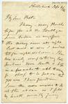 Letter: Alfred Charles Barker to Matthias Barker, 4 September 1866