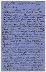 Letter: Alfred Charles Barker to Matthias Barker, 5 December 1866