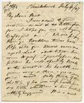 Letter: Alfred Charles Barker to Matthias Barker, 4 July 1867