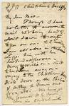 Letter: Alfred Charles Barker to Matthias Barker, 16 [?] December 1870