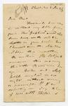 Letter: Alfred Charles Barker to Matthias Barker, 2 January 1871