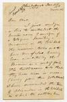 Letter: Alfred Charles Barker to Matthias Barker, 11 January 1871
