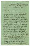 Letter: Samuel Delabere Barker to Uncle [Matthias Barker?], 13 February 1871