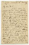 Letter: Alfred Charles Barker to Matthias Barker, 16 March 1871