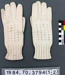 Gloves: White Riding