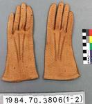 Glove: Brown Hogskin