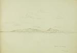 Sketch: Gomera and Teneriffe, 20 September 1850