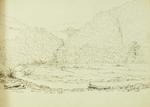 Sketch: On the Rangitata,  12 October 1861