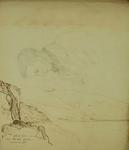 Sketch: View from  near Shag Rock, 4 April 1855