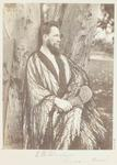 Photograph: Mr E R Chudleigh in Costume, 25 September 1868