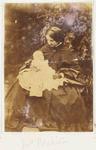 Photograph: Mrs Blakiston Holding a Baby