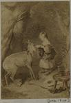 Photograph: Child and Doe, Illustration