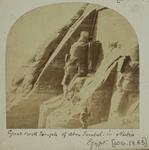 Photograph: The Great Rock Temple in Nubia, Egypt, 1874