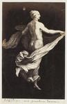 Photograph: Floating Figure with Fabric