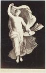 Photograph: Figure Holding Platter and Robe