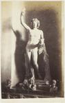 Photograph: Male Sculpture with Grapes